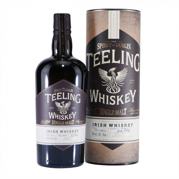 Teeling Irish Single Malt Whiskey in GD