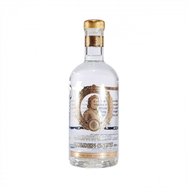 Ladoga Wodka Imperial Collection Golden Snow