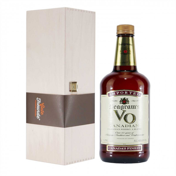 Seagrams VO Canadian Whiskey (1,75 L) mit Geschenk-HK