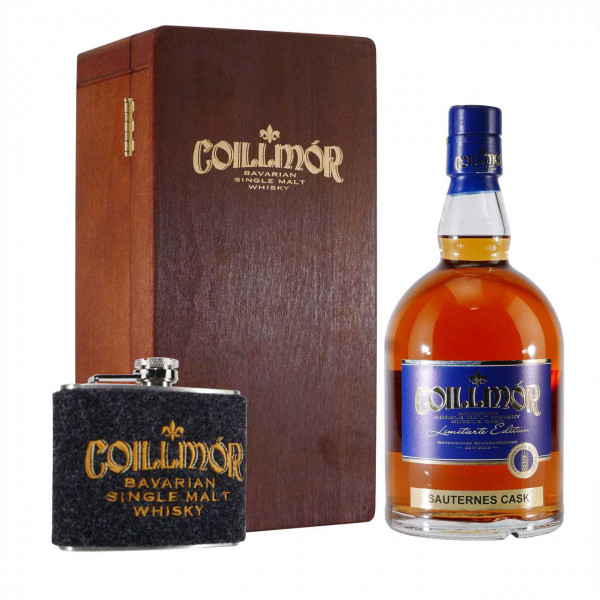 Liebl Coillmór Single Malt Whisky Sauternes Cask Geschenk-Set