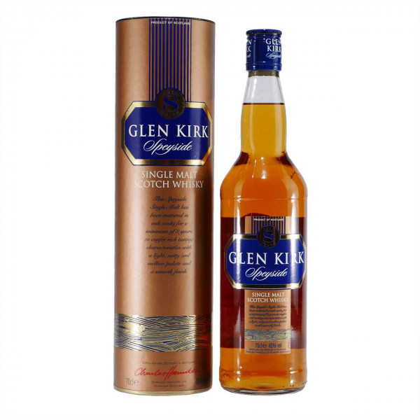 Glen Kirk Speyside Single Malt Scotch Whisky 8 Jahre