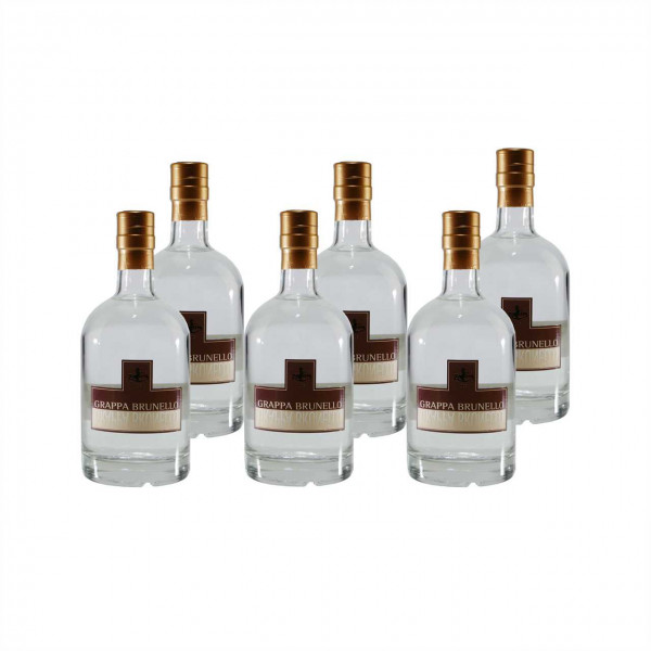 Zanin Grappa Brunello (6 x 0,5L)
