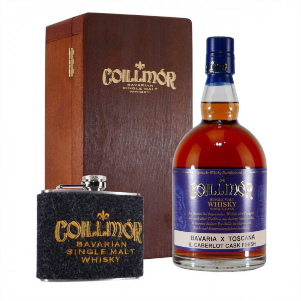 Coillmór Single Malt Whisky Bavaria Geschenk-Set