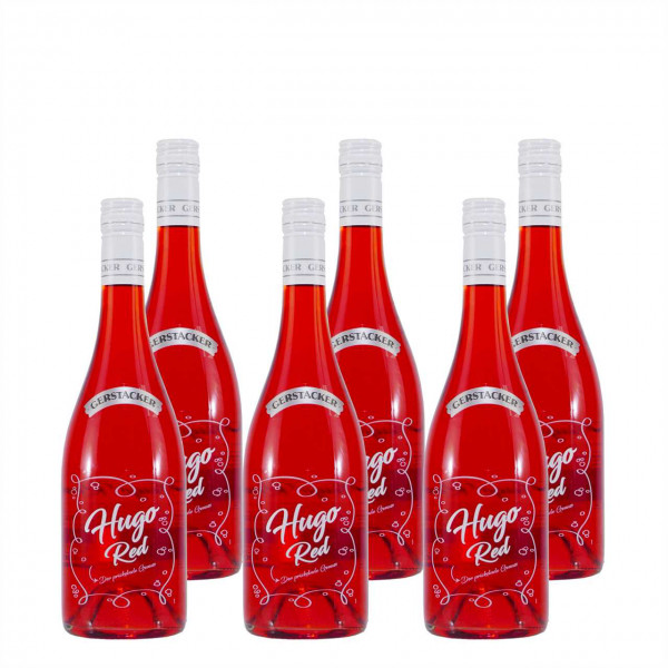 GERSTACKER Hugo Red Cocktail (6 x 0,75L)