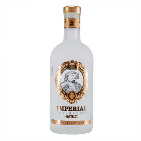 Ladoga Imperial Collection Gold Vodka
