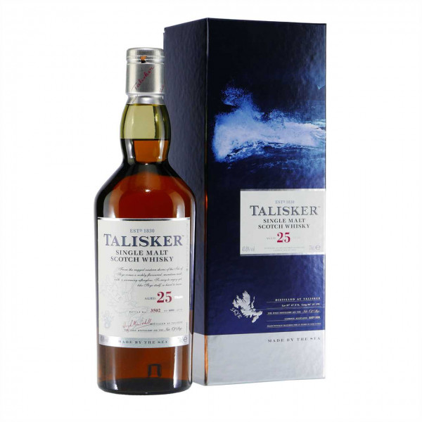 Talisker Single Malt Scotch Whisky 25J-2014