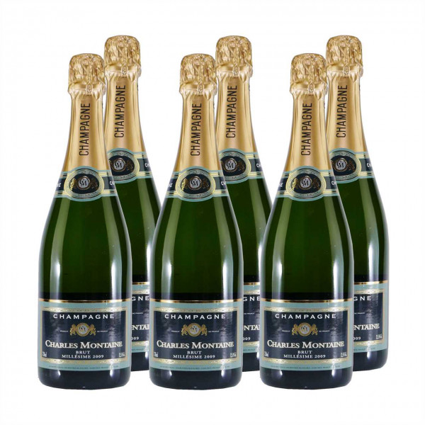 Champagner Charles Montaine Brut (6 x 0,75L)