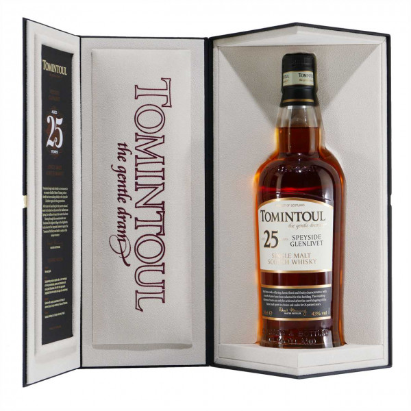 Tomintoul Single Malt Whisky 25 J