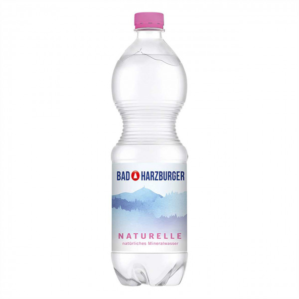 Bad Harzburger Naturelle Mineralwasser (6 x 1,0L)