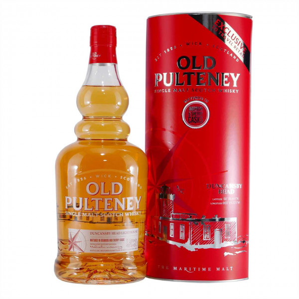 Old Pulteney Single Malt Scotch Whisky Duncansby Head
