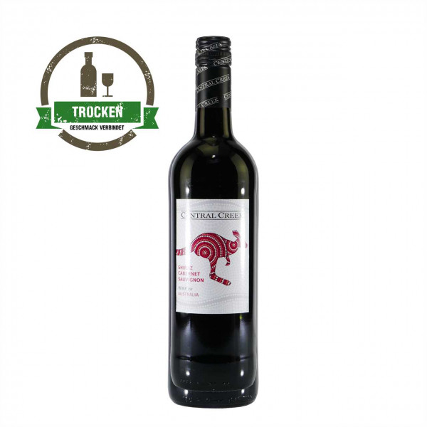 Central Creek Shiraz-Cabernet Sauvignon - Rotwein trocken