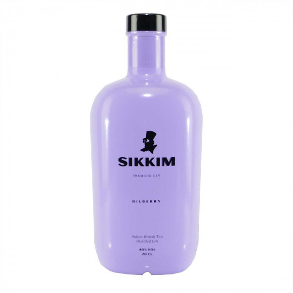 Sikkim Bilberry Indian British Tea Distilled Gin