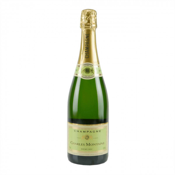 Champagner Charles Montaine Demi Sec Les Roches