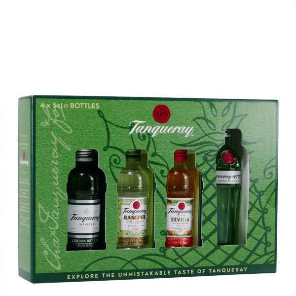Tanqueray Miniaturen Collection (4 x 0,05L)