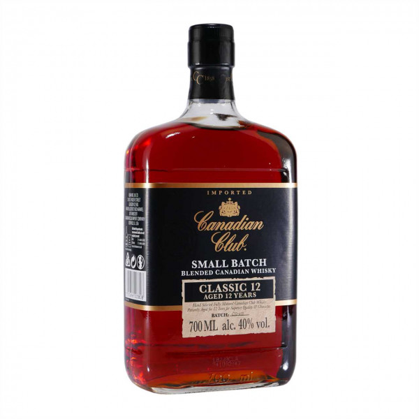 Canadian Club Small Batch Blended Whisky Classic 12 J