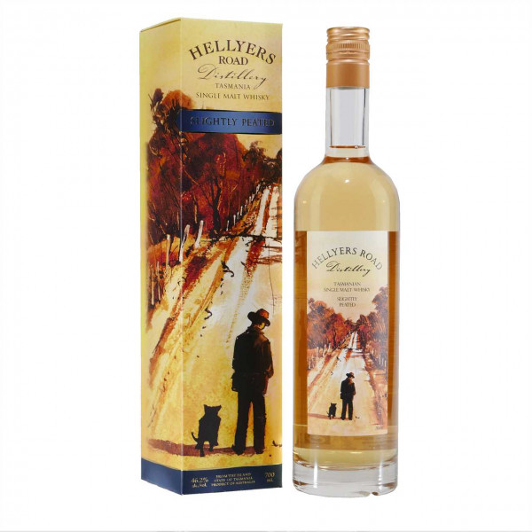Australischer HELLYERS ROAD Peated Single Malt Whisky