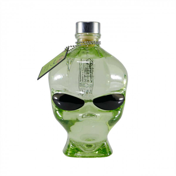 "Outerspace Alien Head Vodka - ""Mini"""