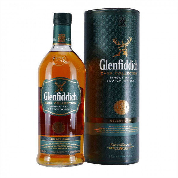 Glenfiddich Cask Collection Select Cask Single Malt Scotch Whisky