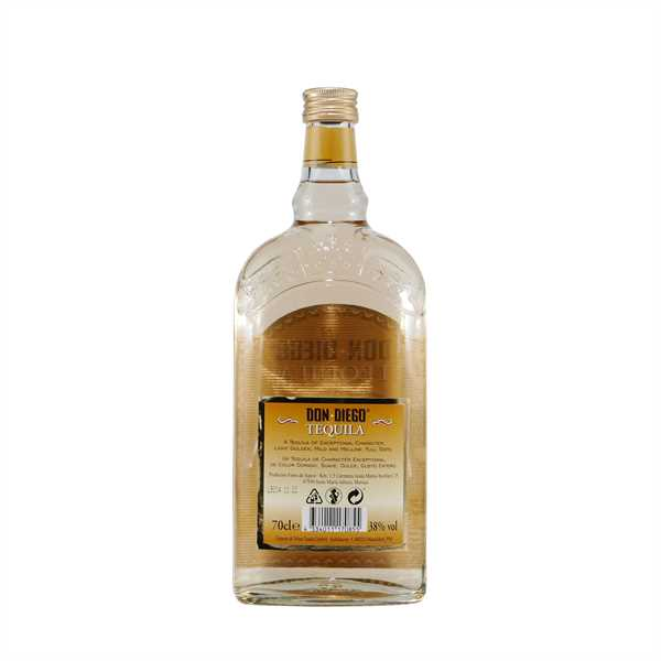 Don Diego Tequila Gold