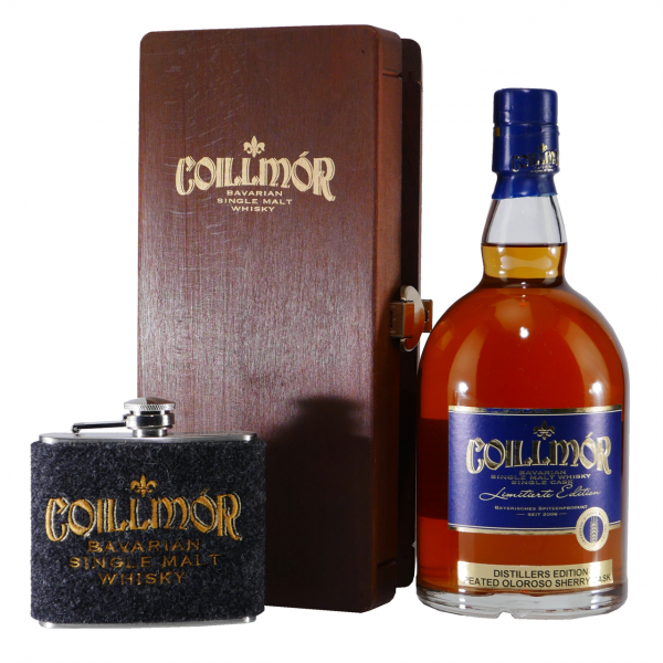 Liebl Coillmór Single Malt Whisky Peated Oloroso Geschenk-Set