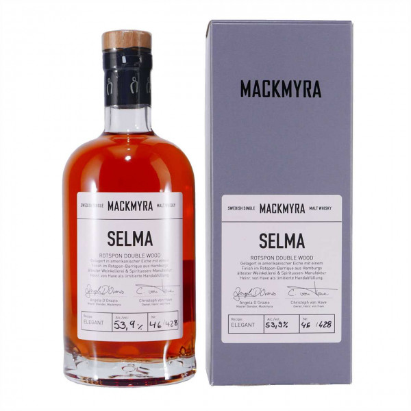 SELMA Mackmyra Swedish Single Malt Whisky