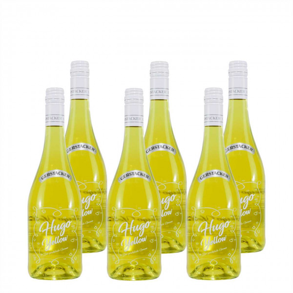 GERSTACKER Hugo Yellow Cocktail (6 x 0,75L)