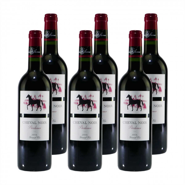 Cheval Noir Bordeaux Grand Vin A.O.C. (6 x 0,75L)