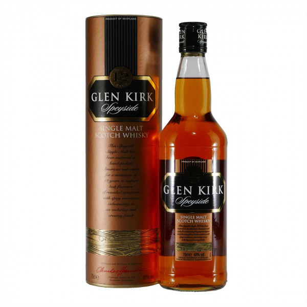 Glen Kirk Speyside Single Malt Scotch Whisky 12 Jahre