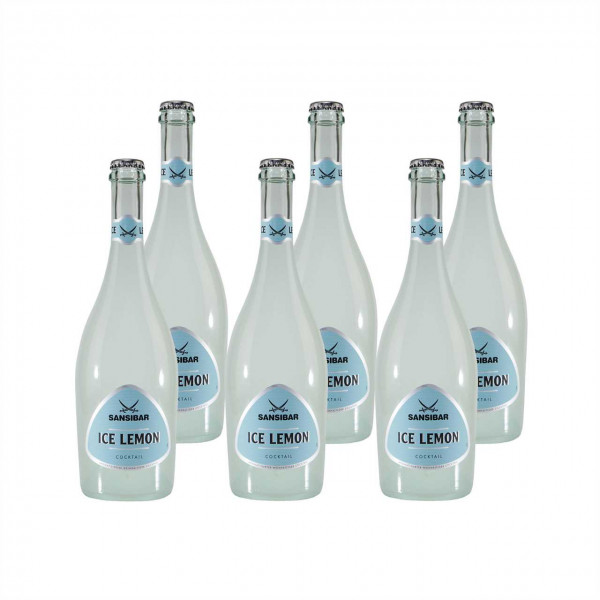 SANSIBAR Ice Lemon (6 x 0,75L)