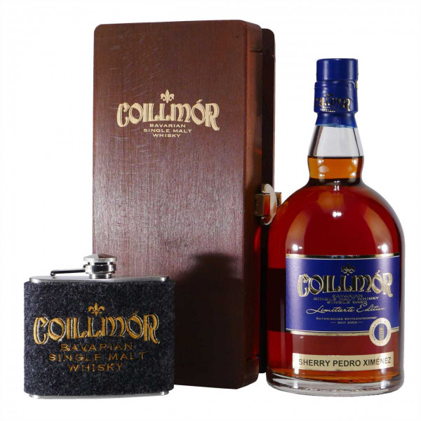 Liebl Coillmór Single Malt Whisky Ximénes Sherry Geschenk-Set