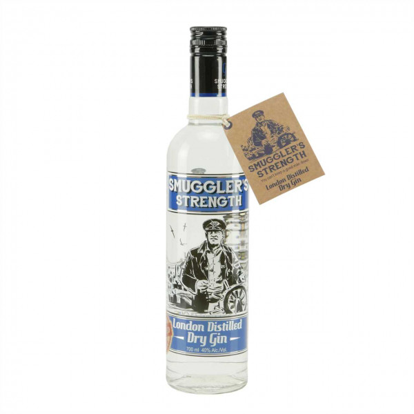 Smugglers Strength London Dry Gin