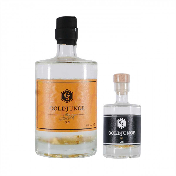 "Goldjunge Stierblut Dry Gin & Goldjunge Dry Gin ""Mini"""