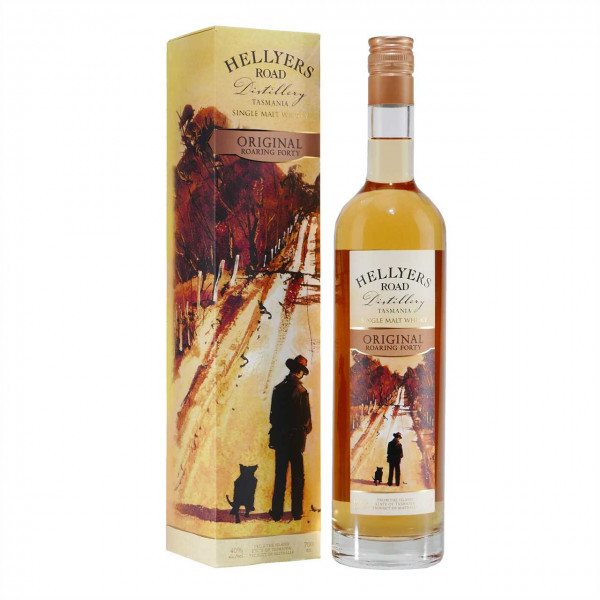 Australischer HELLYERS ROAD Roaring Forty Single Malt Whisky