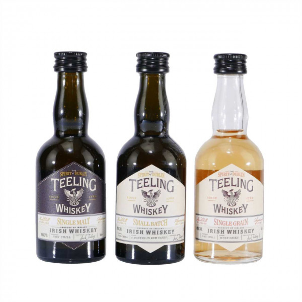 Teeling Collection (3 x 0,05 L)