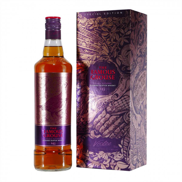 Famous Grouse Blended Scotch Whisky 16 J Vic Lee Special Edition
