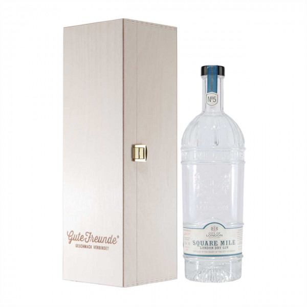 City of London Square Mile London Dry Gin mit Geschenk-HK