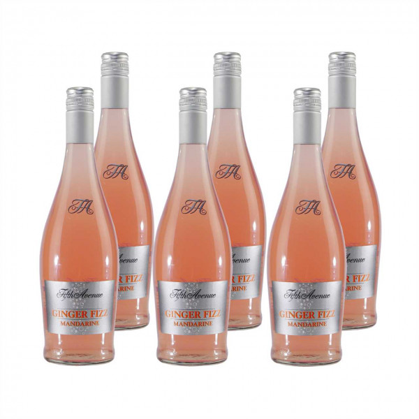 Fifth Avenue GINGER FIZZ Mandarine (6 x 0,75L)